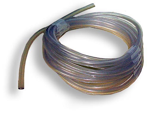 Clear PVC 3mm windscreen washer tube (per Mtr) - CXW060