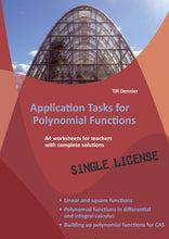 Lade das Bild in den Galerie-Viewer, AzP-EN - Application Tasks for Polynomial Functions - eBook