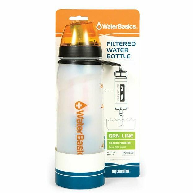 Aquamira Filtered Water Bottle