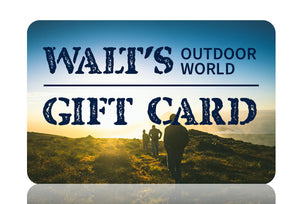 Walt's Outdoor World Gift Card