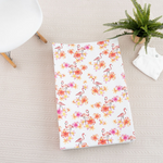 Flamingo Anti Roll Wedge Mat | The Gilded Bird | Baby Changing Mats | Buy Changing Mats Online | Buy Wedge Mats