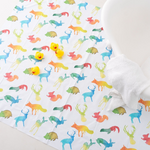 Colourful Animals Splash Mat | The Gilded Bird | Baby Changing Mats | Buy Changing Mats Online | Buy Splash Mats | Splash Mats