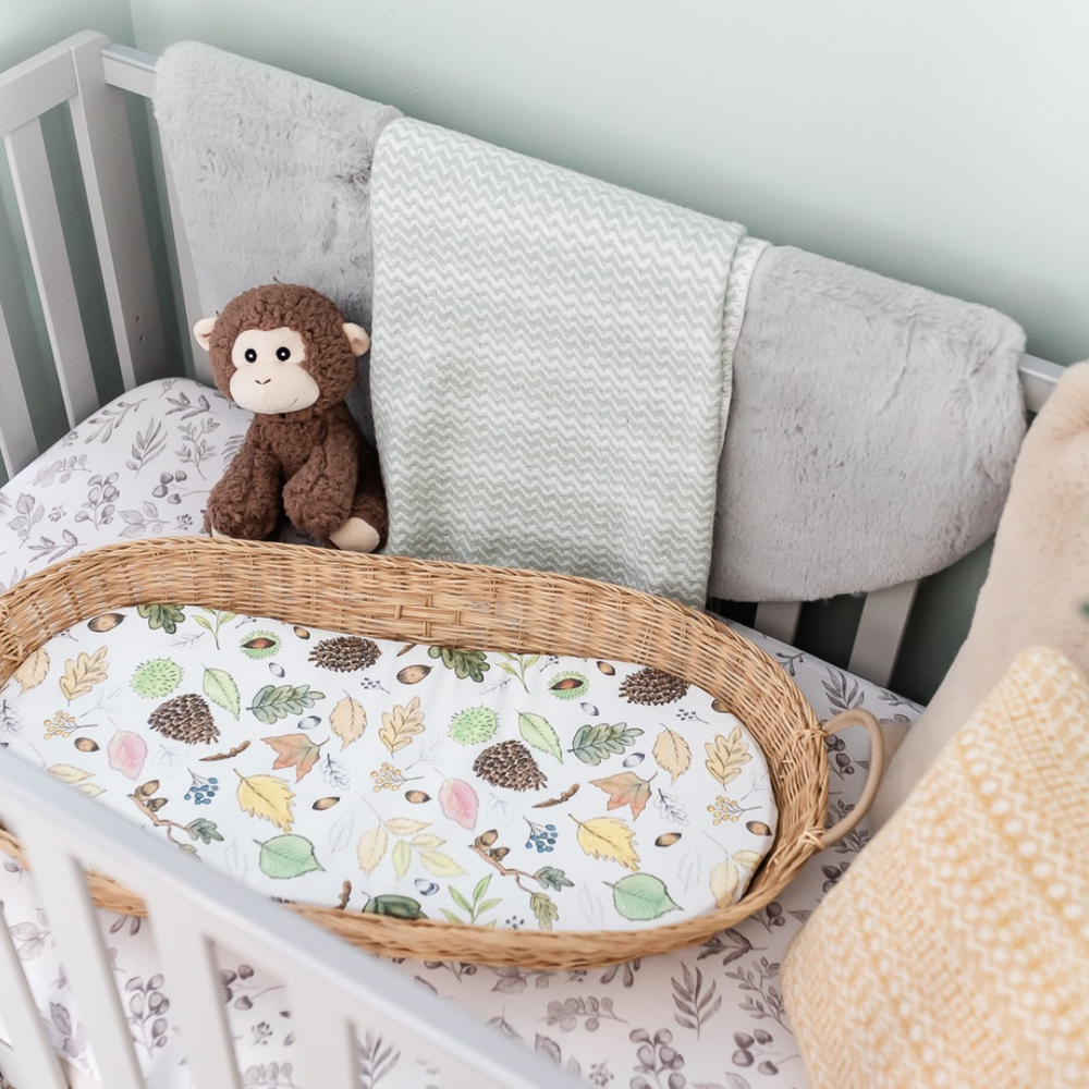 Load image into Gallery viewer, The Gilded Bird | Baby Changing Mats | Buy Changing Mats Online | Buy Basket Changing Inserts