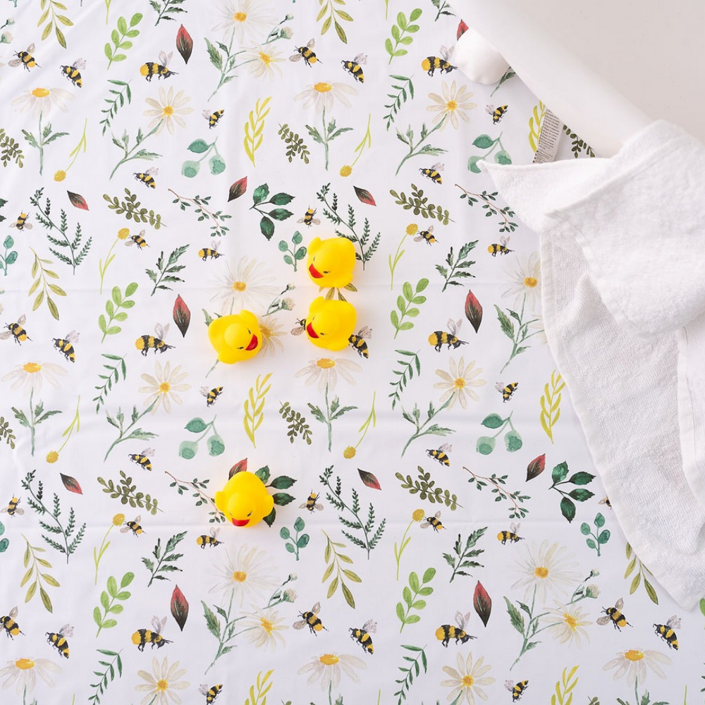 Wild Bee Splash Mat | The Gilded Bird | Baby Changing Mats | Buy Changing Mats Online | Buy Splash Mats | Splash Mats