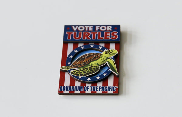 VOTE FOR TURTLES MAGNET