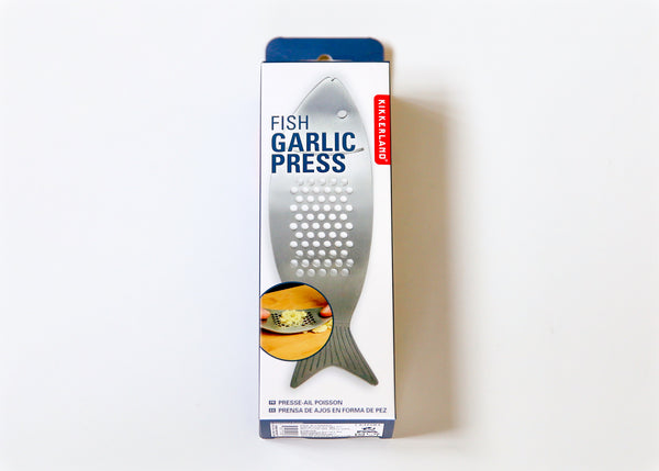 Fish Garlic Press