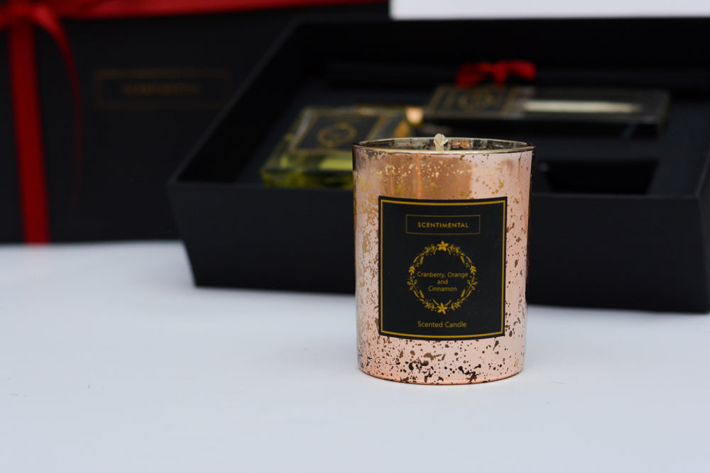 Christmas '20 Rose Gold Jar Scented Candle