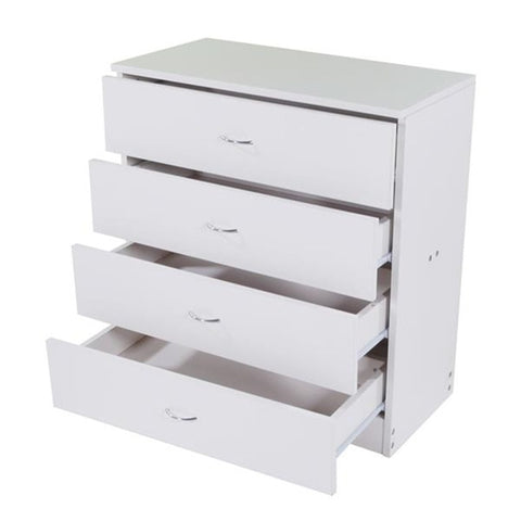 High Quality  MDF Wood Simple 4-Drawer