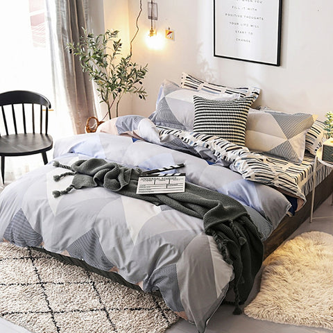 Simple Style Home Bedding Set