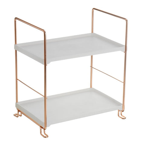 Bathroom Shelf Storage Rack Metal Display Stand