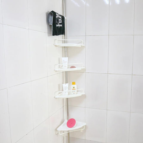 4 Layer Adjustable Telescopic Shower Caddy