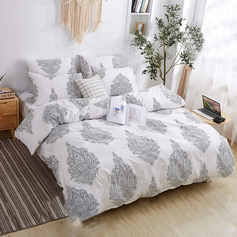 4pcs Simple Bedding Set