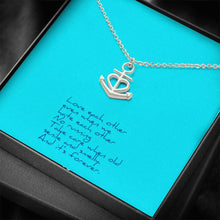 Load image into Gallery viewer, Love Each Other Wife Girlfriend Anchor Shape Necklace