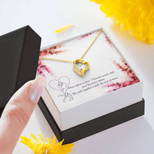 Load image into Gallery viewer, Once upon a time-Love Girlfriend Wife  Forever Love Heart Necklace personalized