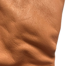 Load image into Gallery viewer, Lambskin leather in Apricot  color