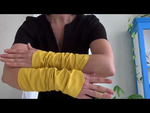 Fashion Yellow Sleeves