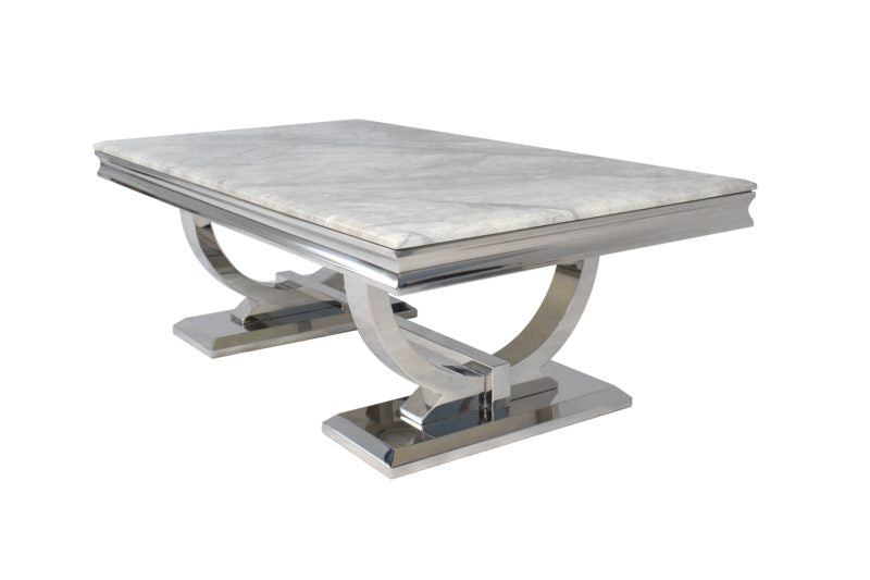 Grey Ariana Marble Coffee Table