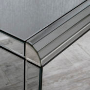Smokey Mirrored Chest Of Drawers