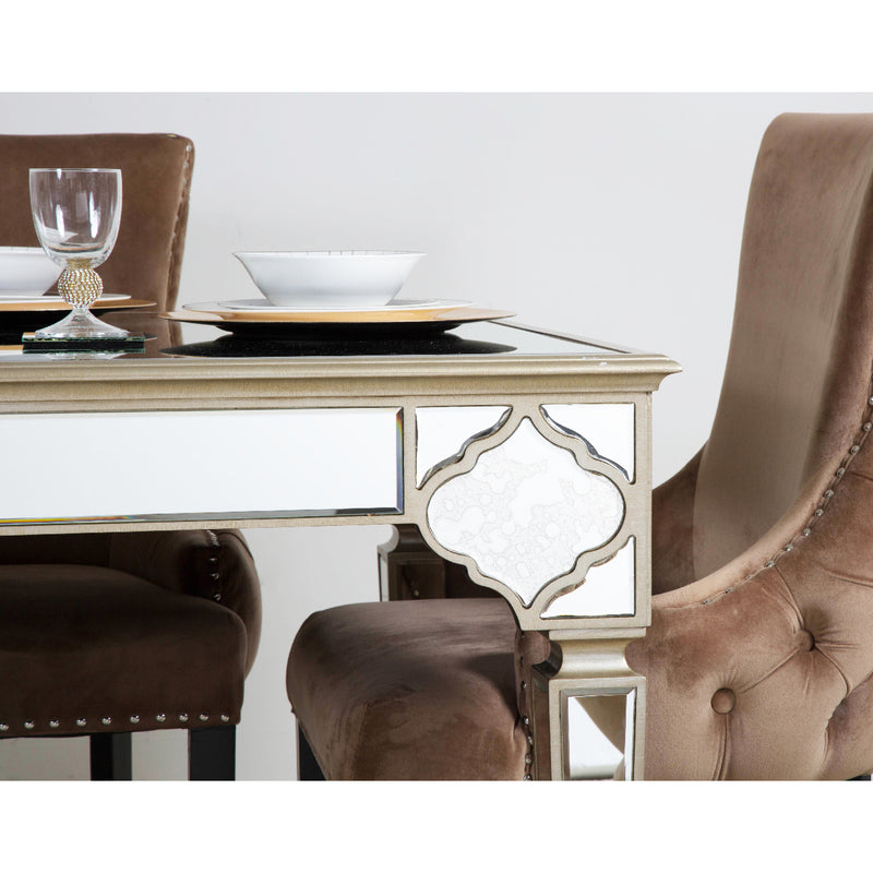 Marrakech Mirror Dining Table