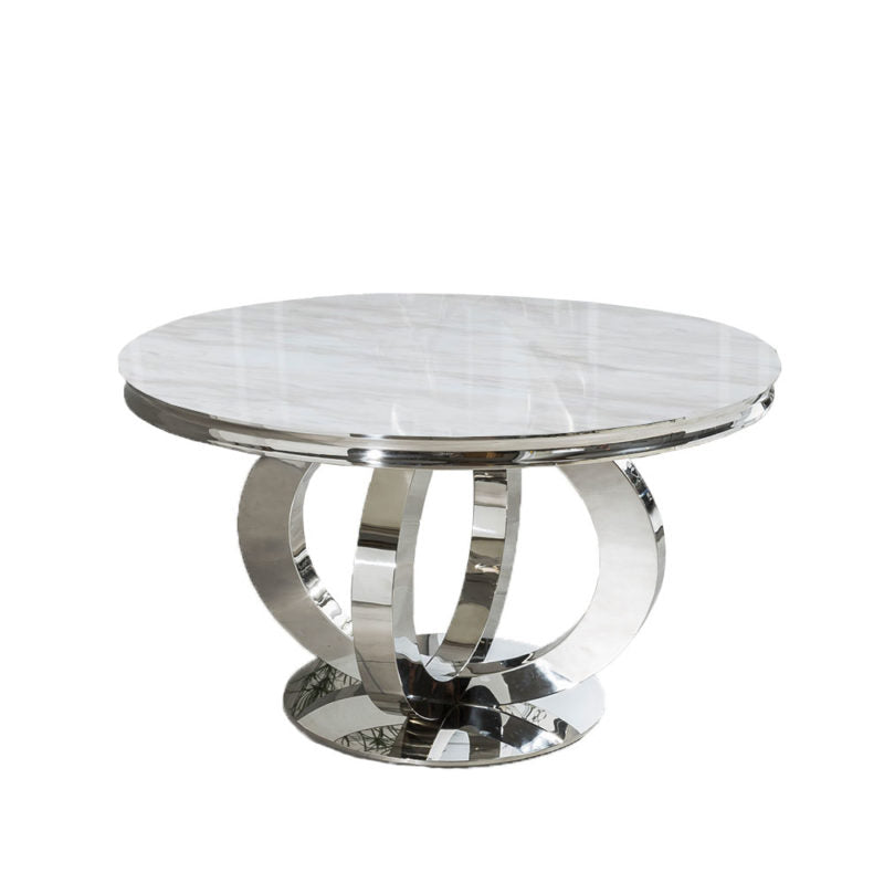 Vogue Round Marble Dining Table