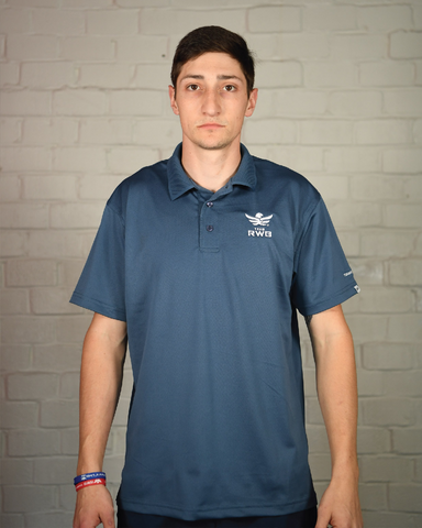 Men's Moisture Wicking Polo (Authentically American)