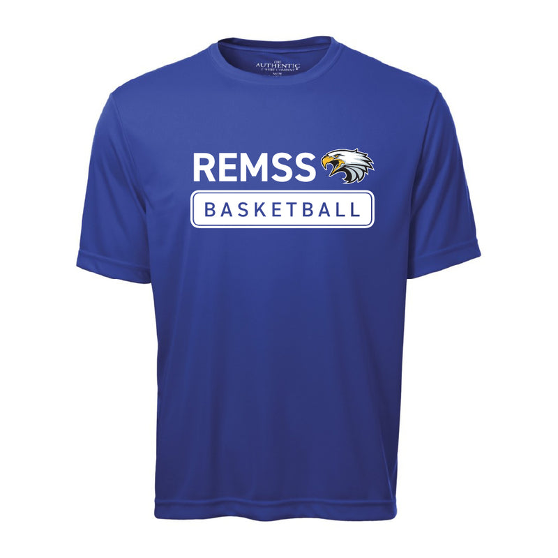 REMSS Eagles Basketball ATC™ Short Sleeve Performance Shirt – Royal