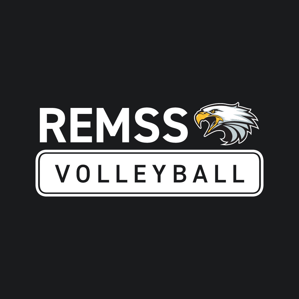 REMSS Eagles Volleyball ATC™ Short Sleeve T-Shirt – Black