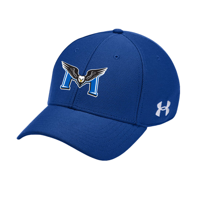 REMSS Eagles Under Armour® Blitzing Hat – Royal