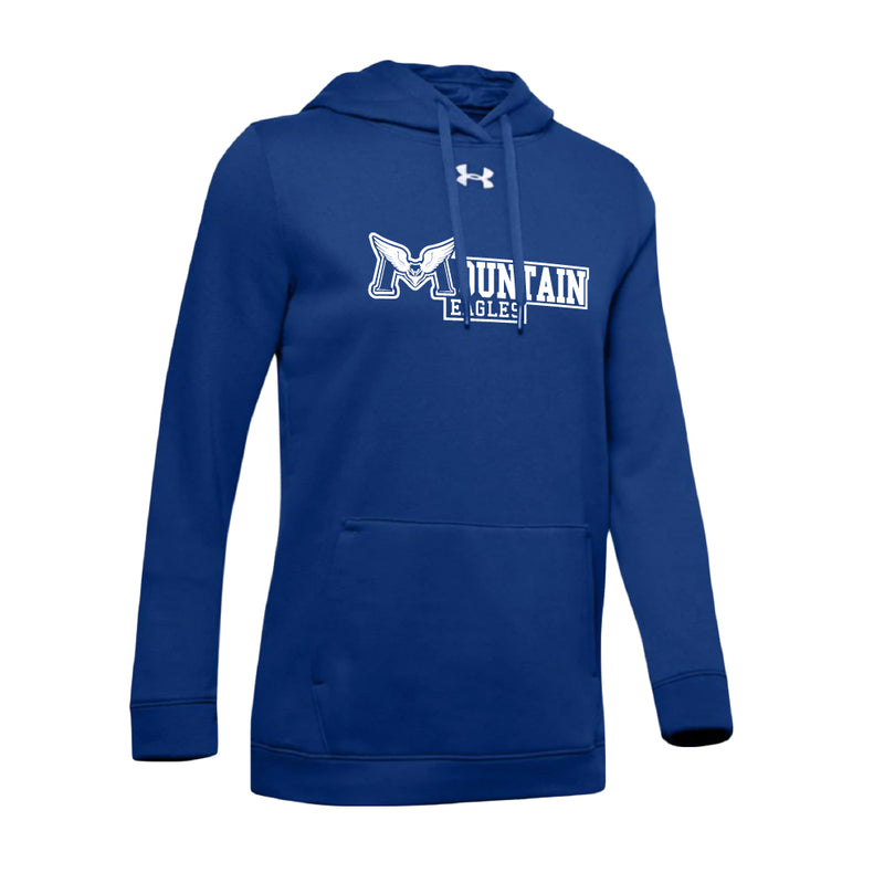 REMSS Eagles Under Armour® Women's Hustle Fleece Hoodie – Royal
