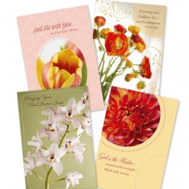 Image of Get Well - Budding Hope - 12 Boxed Cards other