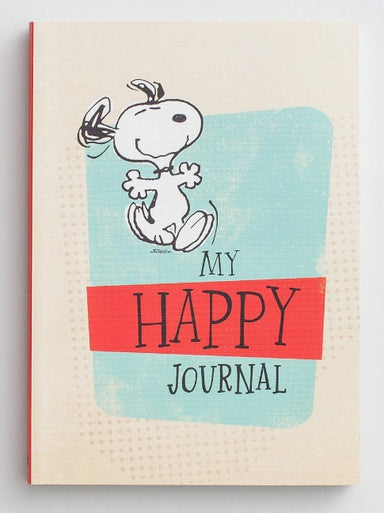 Image of Peanuts - Happy Notebook Journal other