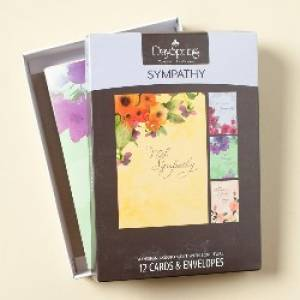Image of BOXED CARD SYM WATERCOLORS other