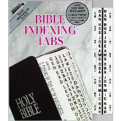 Image of Bible Index Tab Silver Large other