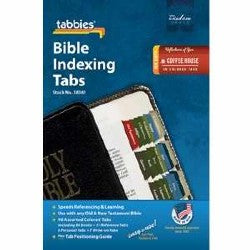 Image of Bible Index Tabs Coffee House Colour other