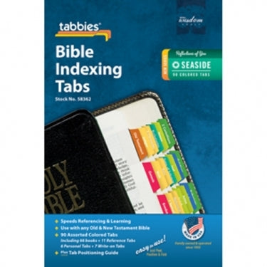 Image of BIBLE INDEXING TABS SEASIDE other