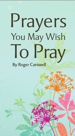 Image of Prayers You May Wish to Pray Tract other