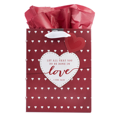 Image of Love Medium Gift Bag – 1 Corinthians 16:14 other