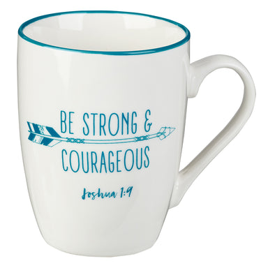 Image of Strong & Courageous Coffee Mug – Joshua 1:9 other