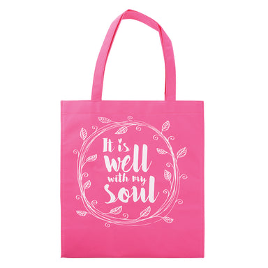 Image of It is Well with My Soul Tote Shopping Bag other