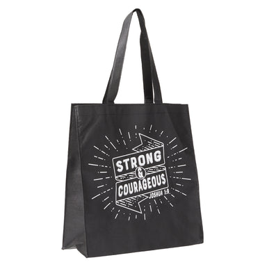 Image of Strong And Courageous Tote Bag - Joshua 1:9 other