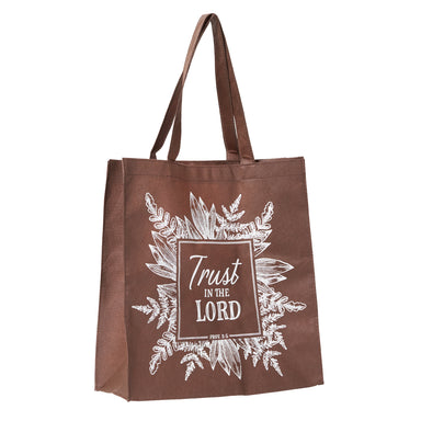 Image of Trust In The Lord Brown Tote Bag - Proverbs 3:5 other