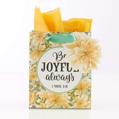 Image of Be Joyful Always Extra Small Gift Bag – 1 Thessalonians 5:16 other