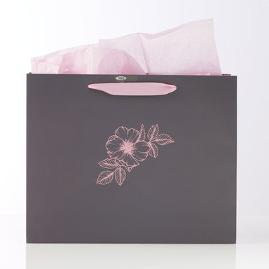 Image of Large Landscape Gift Bag: Strength and Dignity other