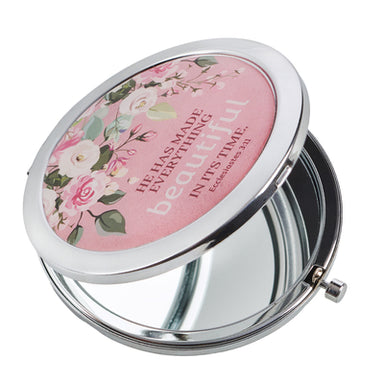Image of Beautiful In Its Time Compact Mirror - Ecclesiastes 3:11 other