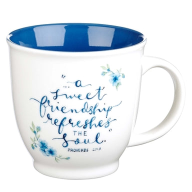 Image of A Sweet Friendship Ceramic Coffee Mug - Proverbs 27:9 other