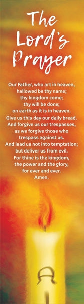 Image of The Lord's Prayer Bookmark (Pack of 10) other
