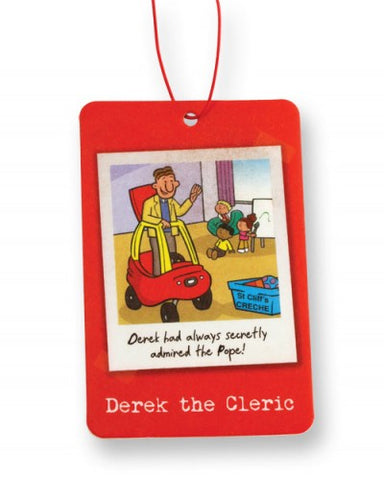 Image of Derek the Cleric Car Air Freshener other