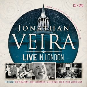 Image of Jonathan Veira Live in London CD/DVD other