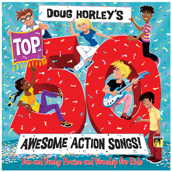 Image of Doug Horleys Top 50 Awesome CD other