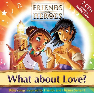 Image of Friends and Heroes What About Love CD other